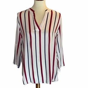Fashion Nova Striped Blouse